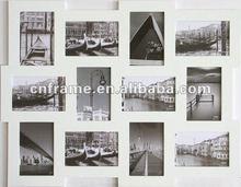 classical photo collage frame 12 opening white photo frame KXBXH1212