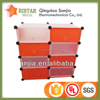 self assembly pp cube storage box decorative storage boxes