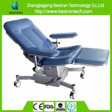 BT-DN012 Luxury manual hydraulic blood transfusion chair blood collection chair blood donation chair