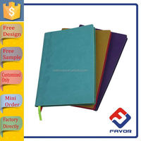OEM creative cardboard notebook book cover design