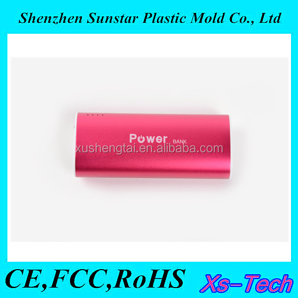 Fashion Aluminum Power Bank 10400mah for mobile phone/Macbook pro/ipad mini