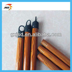 plastic cover made in china wooden broom stick ,wooden mop handles