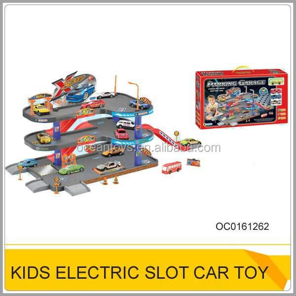 High quantity electric slot car racing track set Slot car racing sets for kids OC0161262