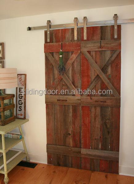 Noir plat porte coulissante rail de guidage pour kit de for 40 inch barn door