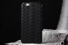 2015 new arrival python skin case for iphone 6 plus