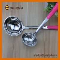 Best Selling Stainless Steel Soup Ladle With Plastic Handle