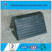 Wheel Stopper Rubber Car Stopper for Parking in China