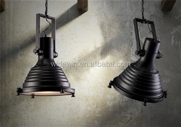 Antieke industri le lampen bar hotel home decoratie hanglamp led high bay lights product id - Industriele kantoorlamp ...