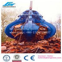 0.63cbm hydraulic remote control scrap steel and waste handling grab