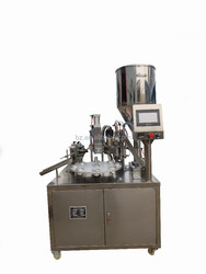 semi automatic tube filler and sealer machine/tube filler and sealer/tube fill seal machine