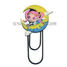 Promotional customized flexible rubber magnet bookmark