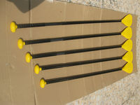 Launched bright yellow carbon fiber sup stand up paddle