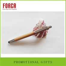2015 new wholesale cheap price promotional gift promotion ball point pen wooden pen