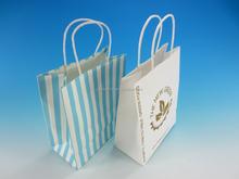 2015 new design custom kraft paper shopping bag