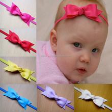 JPQ90 Hot sale dovetail bow headband hair accessories for kids 2015