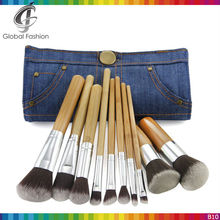 Make-Up Cosmetics private label bamboo makeup brushes