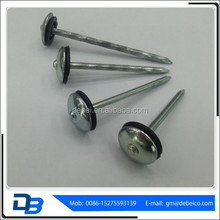 Metal Washer Umbrella Roofing Nails Prices