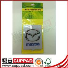 2014 new designs for promotion customize paper air freshener J234