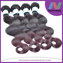 JRX hair products Co Supply wholesale price high quality dark red hair extensions