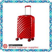 hard shell 24 inch trolley luggage factory in guangzhou china