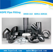 Top Quality Custom-made Hdpe Pipe And Fitting For Water Sewer