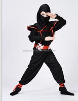 carnival fantasy party ninja costume sexy japanese samurai costume for boys