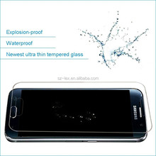 Mobile phone accessories for Samsung galaxy s6 edge tempered glass screen protector