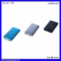 USA Hot Sale Portable Power Bank Cheap Power Bank Charger 12000mAh