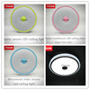 CE&ROHS led motion sensor ceiling light/motion sensor led silicon wristbands bracelets