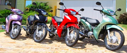 Gasoline cub Motorcycle, moped, bike BIZ-2 50CC, 110CC