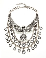 fashionable statement necklace, china necklace manufacturer, shipping rates from china to usa