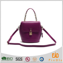 S827-A3939-2015 The latest designs women bags leather fashion lock bag from Fiedle