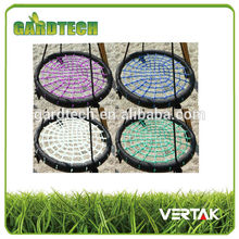 Front rank of garden tools supplier garden baby plastic swing made in China