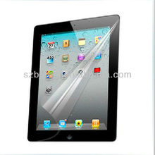 HD Clear screen protector for ipad2/3/4,Transparent screen protector for ipad