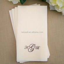 customized logo printed disposable towel