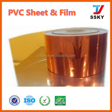 Soft And Rigid PVC Sheet For Thermoforming Clear Plastic Sheet For Folding Boxes