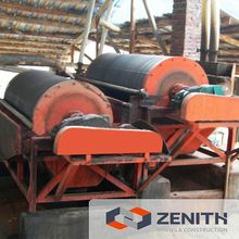Large capacity iron ore magnetic separator machine with low price