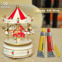 Industrial RoHS approved Non flammable stone glue epoxy adhesive for Rubber