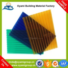 Waterproof material fire proof bola de policarbonato for skylight