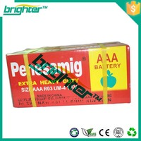 r6 battery 1.5v aa r6 sum3 carbon zinc for tv remote battery to Libya