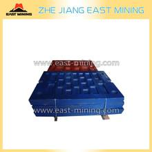 Jaw Plate toggle plate sandvike/metso MN18 High Manganese Steel