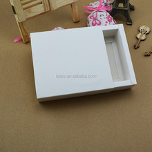 custom paper drawer box / sliding drawer paper packaging box/ paper box with a drawer