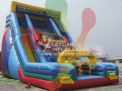 Hot sale inflatable double lane slide meet EN 14960