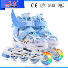 GX-8905 Three wheel roller flash light skate shoes