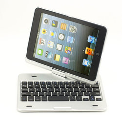 New Arrivial 360 Rotating AU Sprayed Metal Sense Bluetooth Keyboard Touchpad