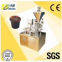 nestle coffee machine/auto capsule filling machine/nespresso coffee capsule sealing machine