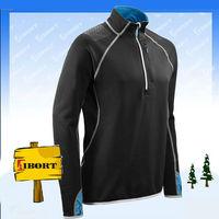 JHDM-2208 mens 1/4 zipper up softshell pullover
