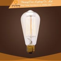 Super texture of household lighting traditional edison bulb