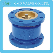 GG20 Non Slam Nozzle Cast Iron Vertical Swing Check Valve