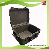 Black Handle padded foam PP Plastic computer case